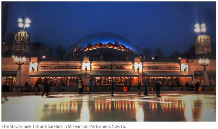 The McCormick Tribune Ice Rink