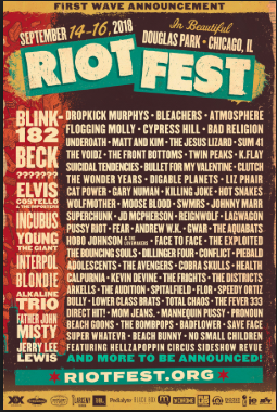 riotfest poster