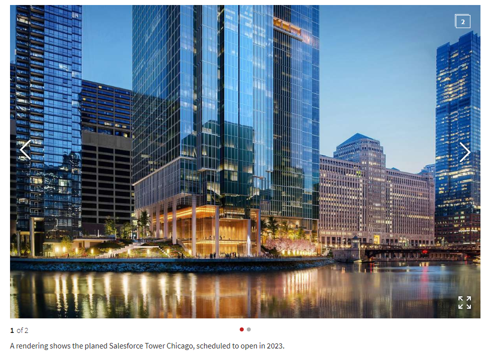 Salesforce Tower Rendering