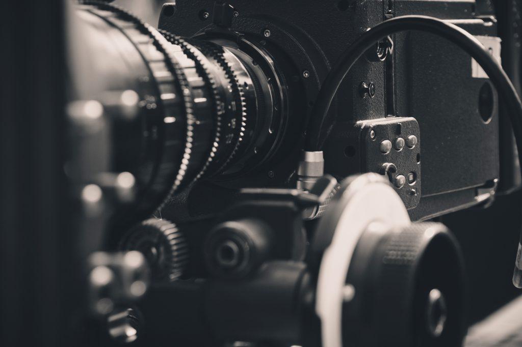 film camera black and white photo